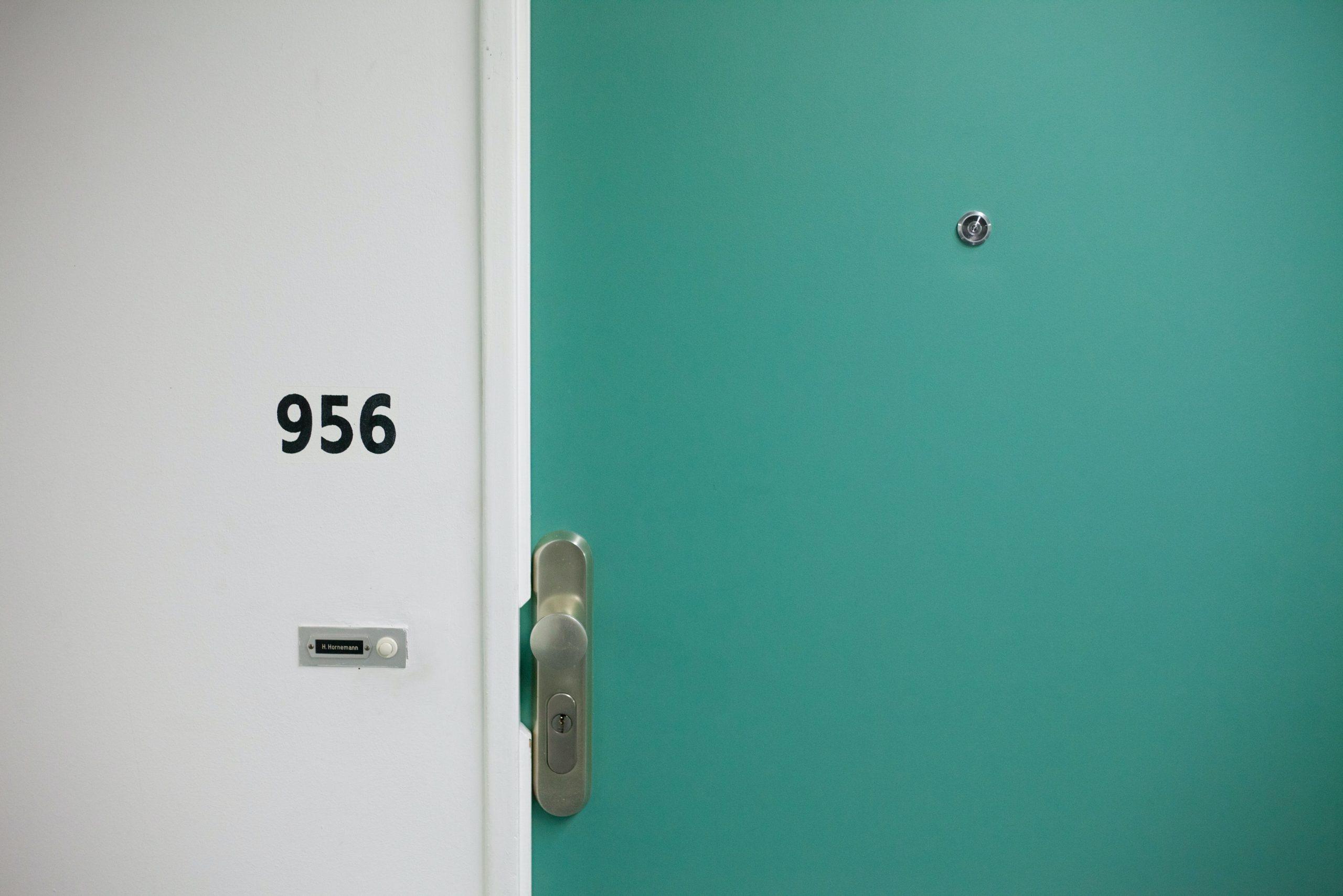 Porte d'entrée appart